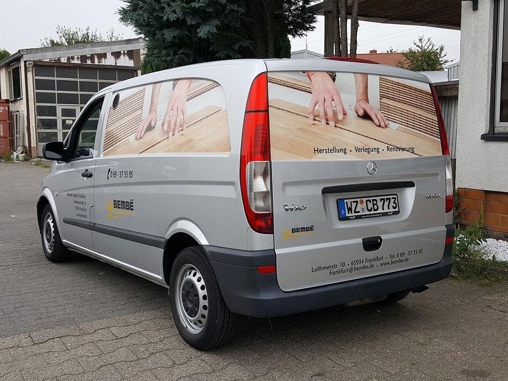 Autobeschriftung Frankfurt